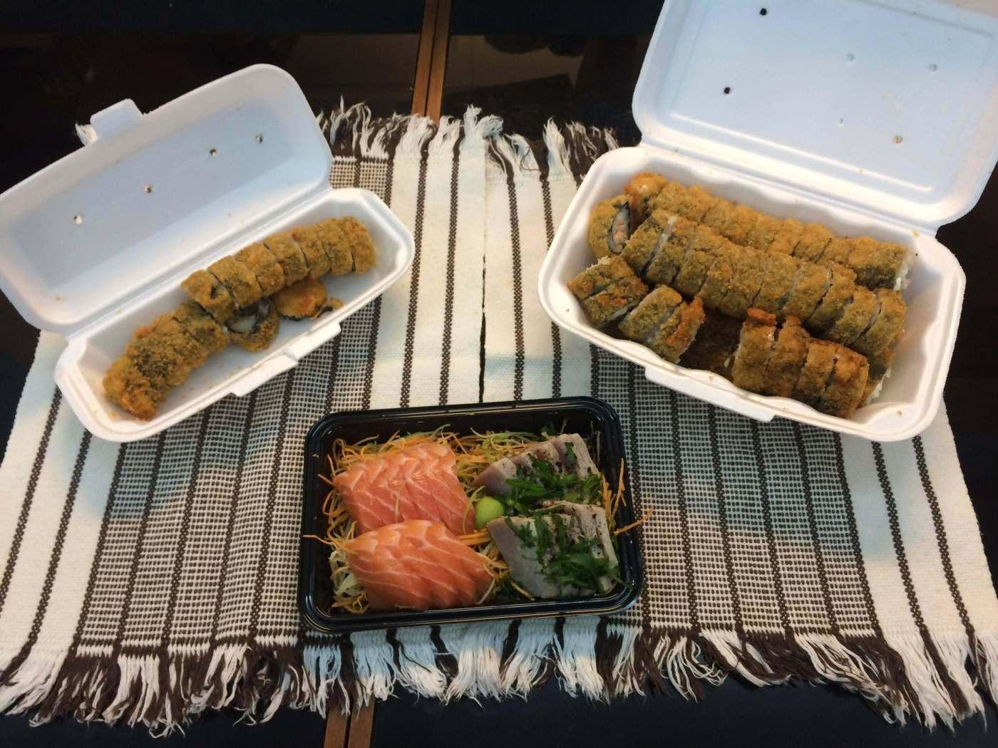 Restaurante Go Home Sushi entrega com os3fominhas