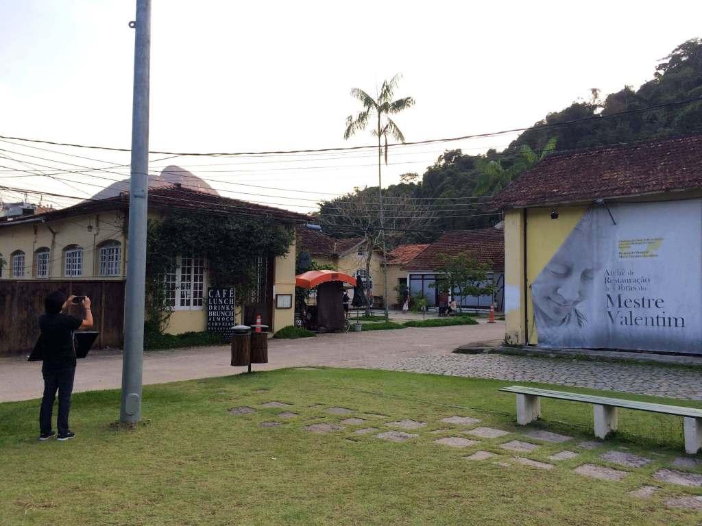 Restaurante e cafeteria Jarbo dentro do Jardim Botanico