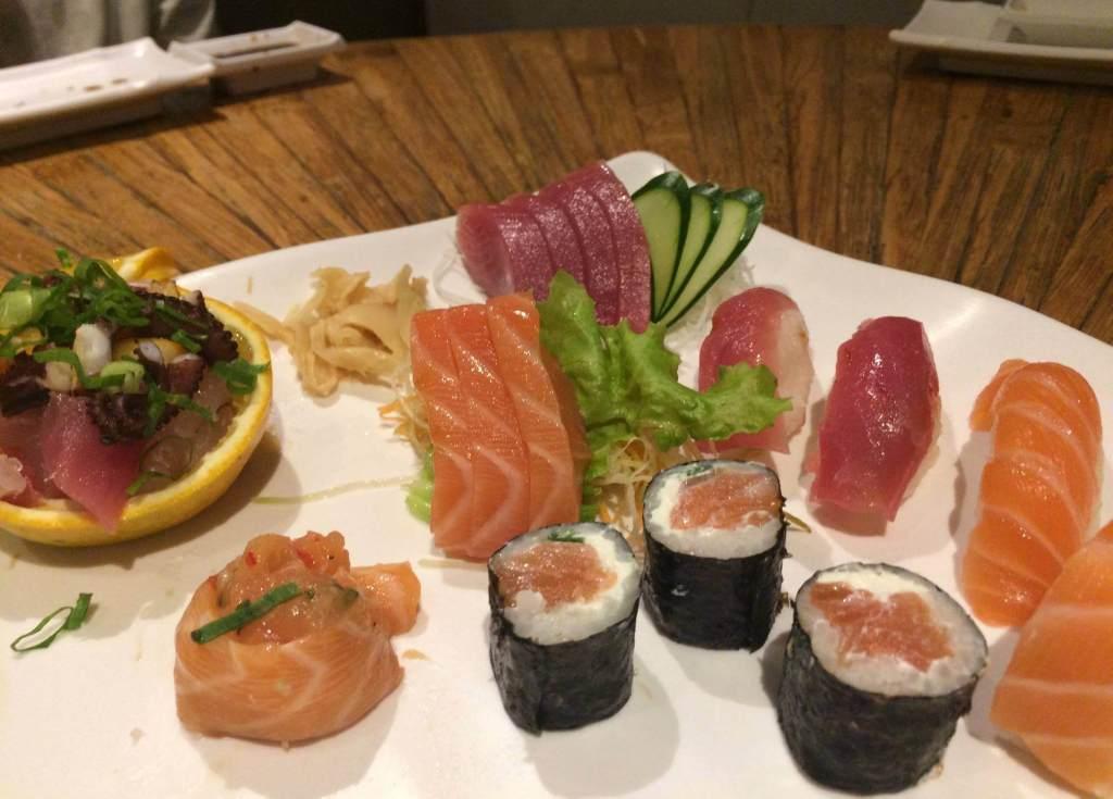 Combinado Orquidea pedido pelo os3fominhas no Restaurante Sushi Rio