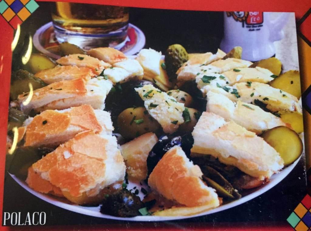 polaco aperitivo do Bar do Leo com os3fominhas