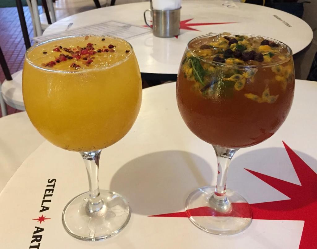 dose dupla de gin do Costelas