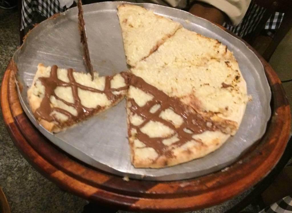 pizza doce do rodizio do Culinare com os3fominhas