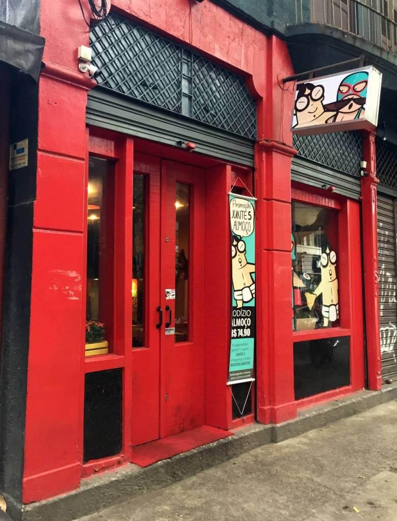 fachada externa do Restaurante Mizu com os3fominhas