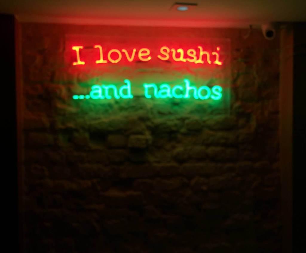 decoração do Restaurante Mizu com os3fominhas