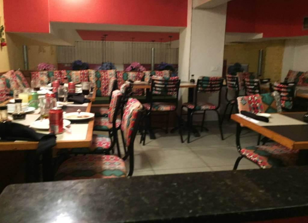 segundo andar do Restaurante Mizu com os3fominhas