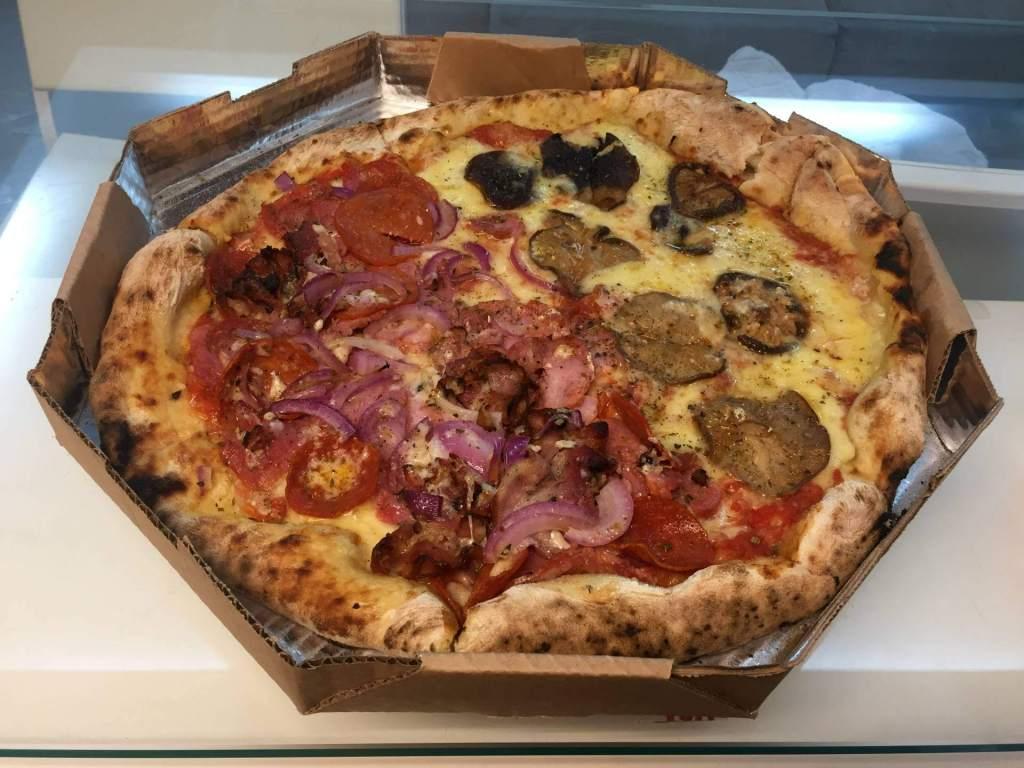 pizza do Pappa Jack com os3fominhas