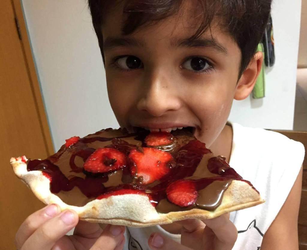 pizza doce do Empório DItália com os3fominhas