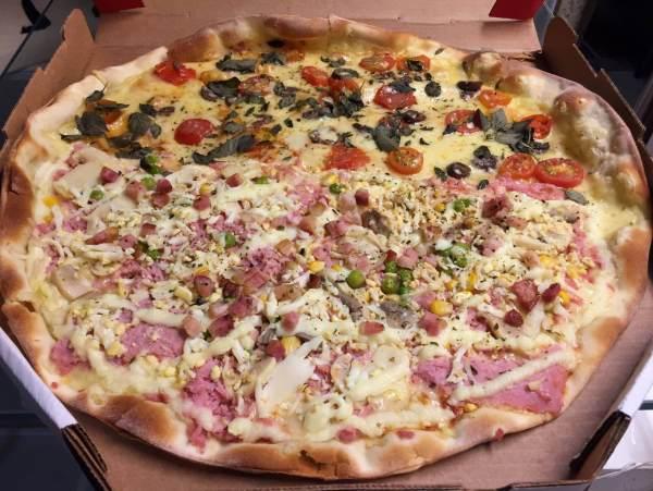 pizza do Empório DItália com os3fominhas