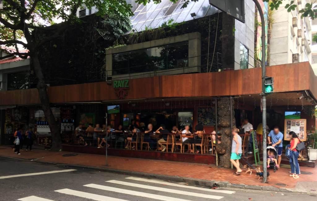 fachada do Restaurante Rayz com os3fominhas