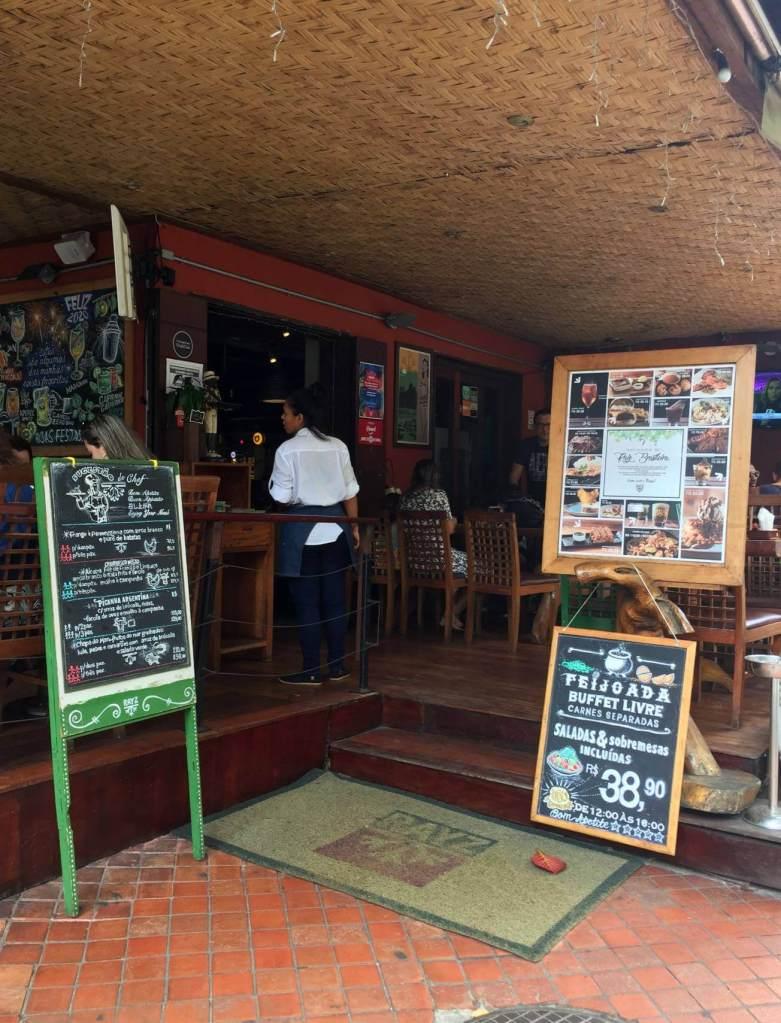 entrada do Restaurante Rayz com os3fominhas