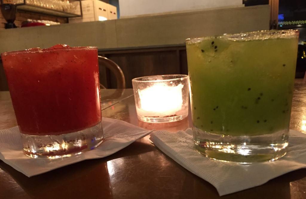 Pistache dose dupla de drink morango e kiwi com os3fominhas