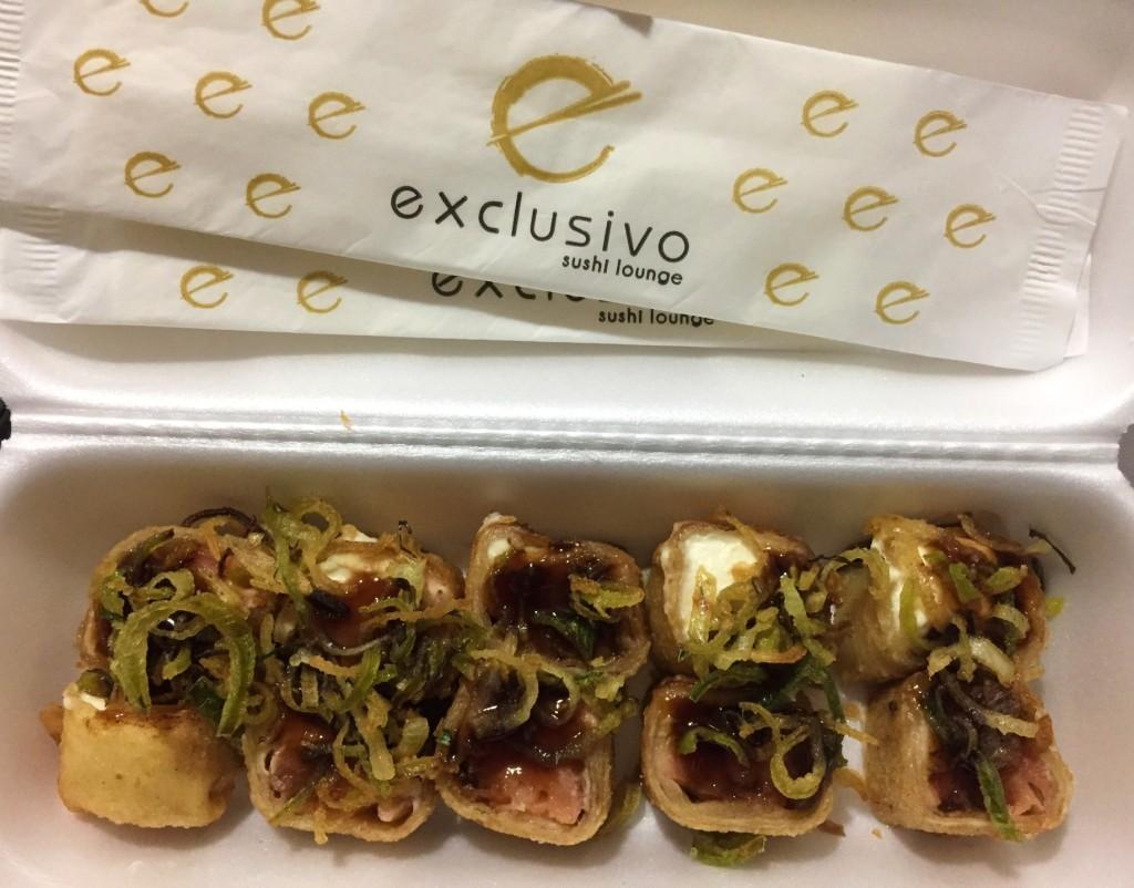 hot exclusivo do exclusivo sushi com os3fominhas