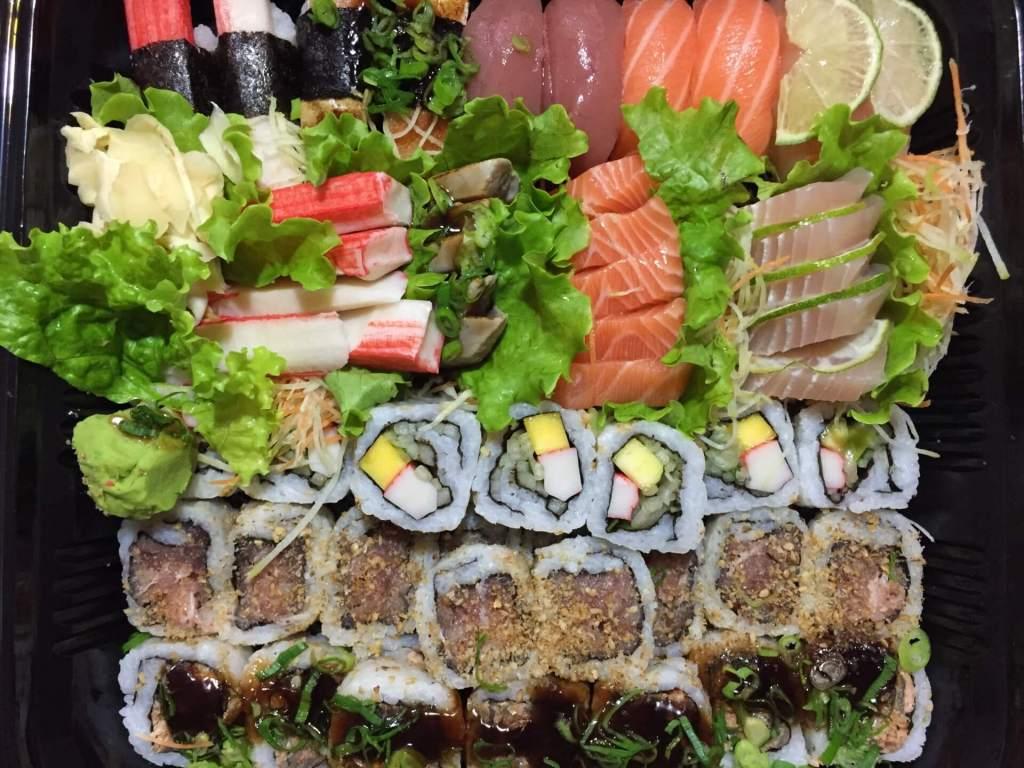 Joy Maki Sushi combinado 72 peças com os3fominhas