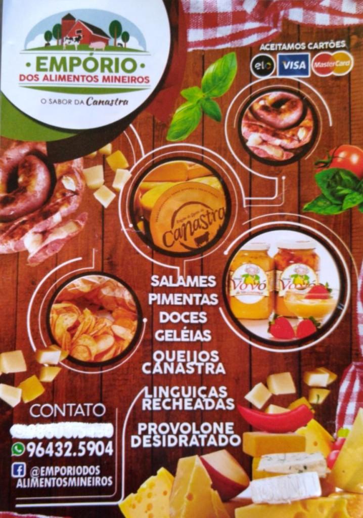 panfleto da Carla do queijo com os3fominhas