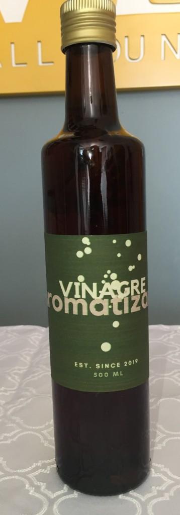 microverde vinagre aromatizado com os3fominhas