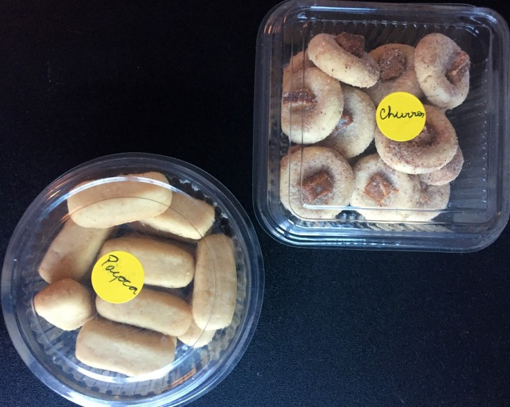 biscoito de churros e paçoca da Wandra com os3fominhas