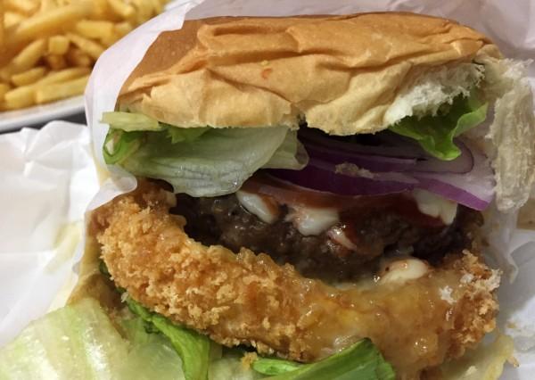 ogroburger do Burger Joint com os3fominhas
