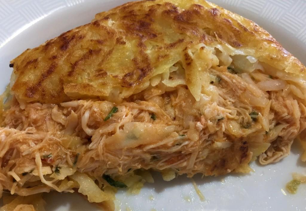 batata rosti de frango da Cores e Sabores com os3fominhas