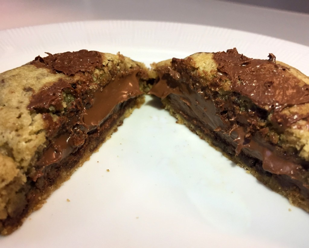 cookie recheado Cookery com os3fominhas