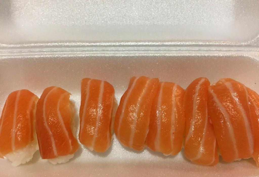sushi salmao Japartiu com os3fominhas