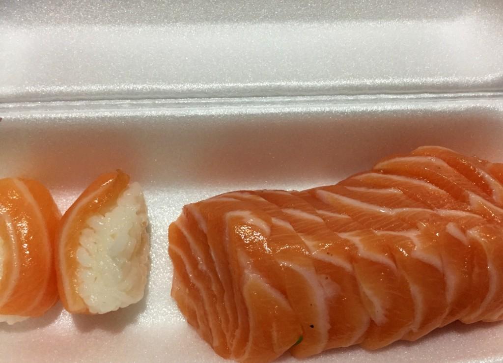 sushi sashimi salmao Japartiu com os3fominhas