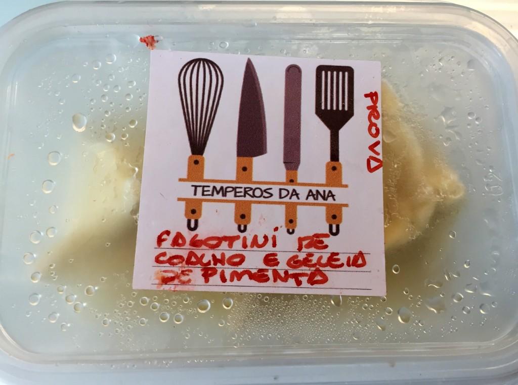 fagotini de queijo coalho e geleia de pimenta Temperos da Ana com os3fominhas