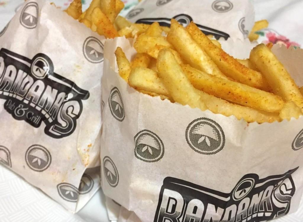 fritas Bandanas burger com os3fominhas